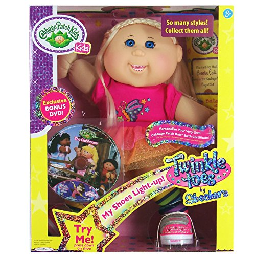 cabbage-patch-kids-twinkle-toes-by-sketchers-girl-doll-with-exclusive-bonus-dvd-blonde-hair-blue-eye