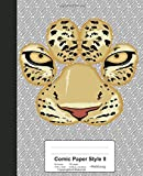 Comic Paper Style II: Tiger Paw Face Book