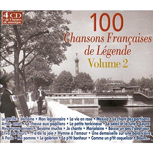100 [cent] chansons françaises de légende : volume 2