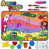 HQQNUO Doodle Tapis Tapis de Dessins 86*57cm avec 4 Magiques Stylos 8 Moules Doodle...