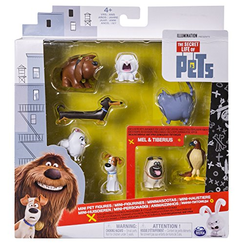 Secret Life of Pets Vita da Animali - Confezione 6 Mini Personaggi