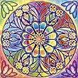 Schmidt Spiele 59203 - Puzzle, Mandala Quadratpuzzle, Ornament, 1000 Teile