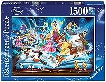 Ravensburger 163182 - Puzzle - Le livre magique des contes Disney - 1500 Pièces