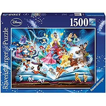 Disney ravensburger world map 1000pc jigsaw puzzle amazon ravensburger disney storybook 1500pc jigsaw puzzle gumiabroncs Images