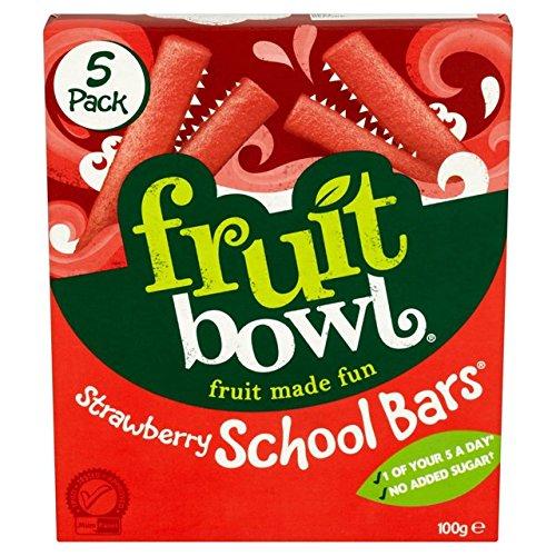 Fruit Bowl School Bars Strawberry 100g