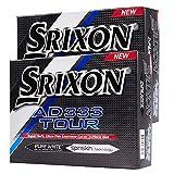 """""""neuf 5123,2cm Srixon AD333Tour Blanc Balles de golf Douzaine double 24Boule Discount Lot..."""