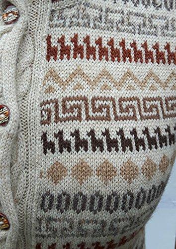 Alpaca Select - Gilet - Manches Longues - Femme multicolore multicolore Camel