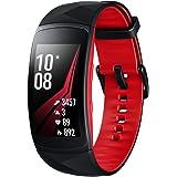 Samsung Gear Fit2 Pro Smartwatch Schwarz, Rot SAMOLED 3,81 cm (1.5 Zoll) GPS - Smartwatches (3,81 cm (1.5 Zoll), SAMOLED…