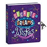 Secrets, Dreams and Wishes Lock & Key Journal