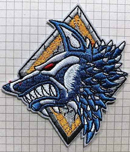 Choppershop Warhammer 40k Space Wolves Embroidered Cloth Iron On Patch