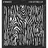 thecraftshop CrafTreat Wood Grain Stencil (6 X 6-inches)