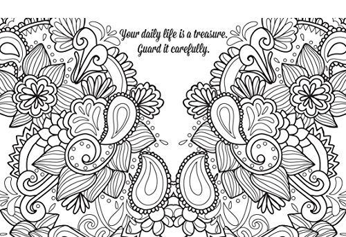Color Yourself Calm Postcards: 50 Peaceful Passages to Color and Share
