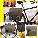 Satteltasche Seitentasche Kunststoff, Kevlar, Gummitaschen, Fahrrad,Moped Schwalbe S50, Simson 2 Stück !