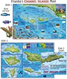 Franko Maps Channel Island National Park and Marine Sanctuary Map for Scuba Diving