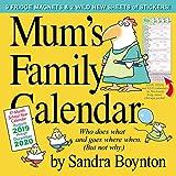 Mum'S Family Calendar by Sandra Boynton 2020 Square Family Organiser