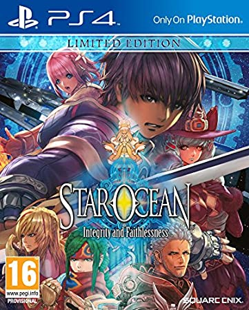 Star Ocean: Integrity and Faithlessness Limited Edition (PS4)