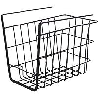 Sous étagère panier fil paniers suspendus sous étagères Support de rangement pour garde-manger Bibliothèque GLISSEMENT…