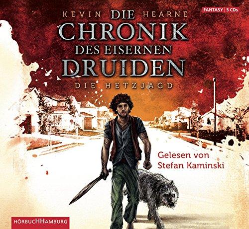 Preisvergleich Produktbild Die Hetzjagd: 5 CDs (Die Chronik des Eisernen Druiden, Band 1)