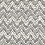 Fabulous Fabrics Leichter Strickjacquard Chevron – grau — Meterware ab 0,5m — zum Nähen von Tops und Shirts, Sweatshirts und Kleidern