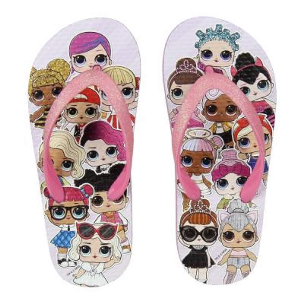 Girls Childrens Flip Flops Pool Shoes Summer Beach Holiday Sandals