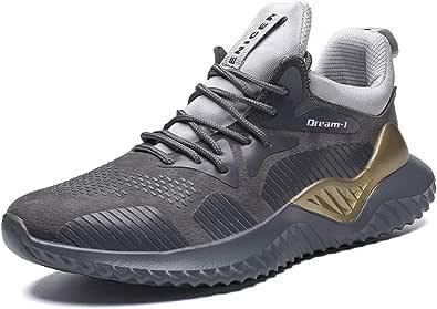 QIMAOO Scarpe da Corsa Sneaker da Uomo Sneakers Scarpe Sportive da Uomo Scarpe da Corsa da Strada Scarpe da Corsa Moda Antiscivolo Traspiranti