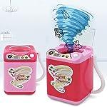 Makeup Brush Cleaner Spinner,Tenlso MiniLaundryMachineClean Toy Cute Cosmetic Powder Puff Washing Mini Washing Machine