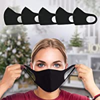 indiadeals24x7 Face Masks | Fabric Face Masks washable | 5-pack | UK Seller