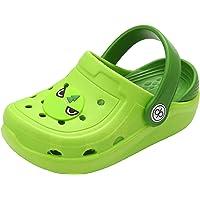 dripdrop Clogs Kids Garden Shoes Boys Girls Comfort Indoor Outdoor Slippers Soft Walking Beach Sandals Toddler/Little…