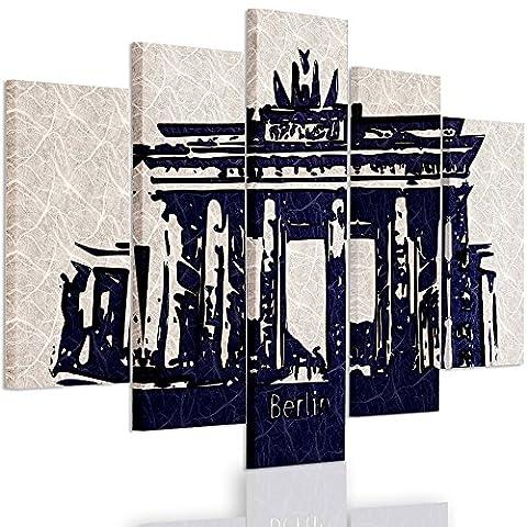 Feeby Frames, Multipart Canvas - 5 panels - Wall Art