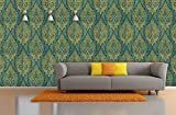 #6: BDPP Washable Vinyl Coated Imported Mettalic Wallpaper-W91027(Covers approximately 50 square. Feet.)