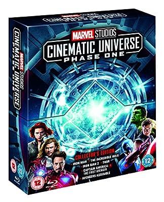 Marvel Studios Collector's Edition Box Set – Phase 1 Blu-ray [Region Free]