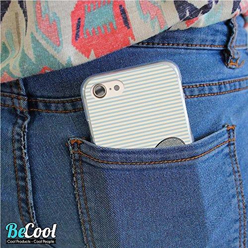BeCool®- Coque Etui Housse en GEL Flex Silicone TPU Iphone 8, Carcasse TPU fabriquée avec la meilleure Silicone, protège et s'adapte a la perfection a ton Smartphone et avec notre design exclusif. Jou L1414