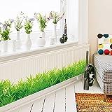 Yirenfeng Umrandungslinie Wand Des Grünen Grases Für Wohnzimmerbadezimmerwanddekoration-Glastaillenlinie