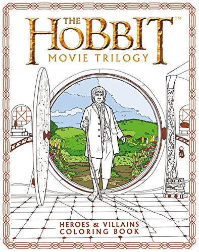 Hobbit Movie Trilogy Coloring Book