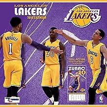 Los Angeles Lakers 2018 12x12 Team Wall Calendar