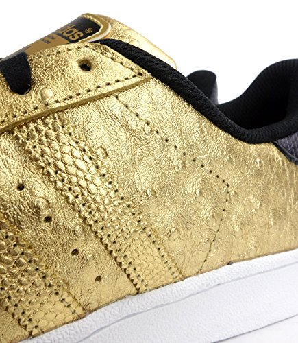 adidas originaux superstar baskets pour hommes S31641 Baskets gold metallic white AQ4702