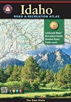 Benchmark Idaho Recreation Map (Benchmark Maps: Idaho)