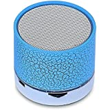 Growth Best Quality Wireless LED Bluetooth Speaker S10 Handfree With Calling Functions & FM Radio (Assorted Colour) For Best Quality Experience