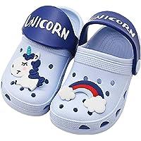 Enfant Sabots Mixte Mules de Jardin Fille Chaussures Clogs Sandales Licorne Antidérapant Eté Piscine Plage Chaussures D…