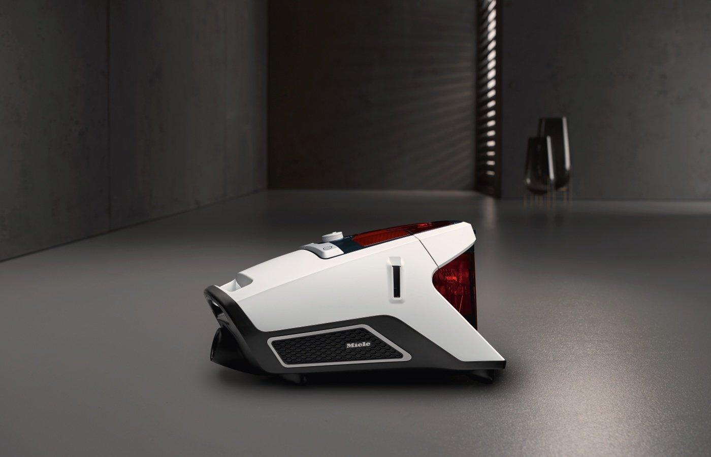 Miele Blizzard CX1 Jubilee EcoLine Staubsauger (ohne Beutel, 550W, mit flexibler Parkettbürste, 11m Radius, beutellos…