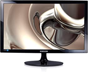Samsung 23.5 inch (59.8 cm) LED Monitor - Full HD, TN Panel with VGA, HDMI Ports - LS24D300HS (Black)