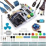 Smraza Starter Kit compatible para Arduino con Breadboard Holder, Motor DC y Tutorial detallado Compatible con Arduino Mega2560 Mega328 Nano