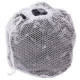 NANAD Wäschesack Mesh Wäschebeutel Polyester Waschmaschine Netztasche groß feines Netz für Dessous Strumpfhosen Socken und Unterwäsche, Wie abgebildet, Style 1 - XL