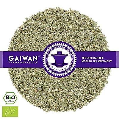 """N° 1362: Thé aux herbes bio """"Yerba maté (chimarrão)"""" - feuilles de thé issu de l'agriculture biologique - GAIWAN® GERMANY - maté de Brésil"""