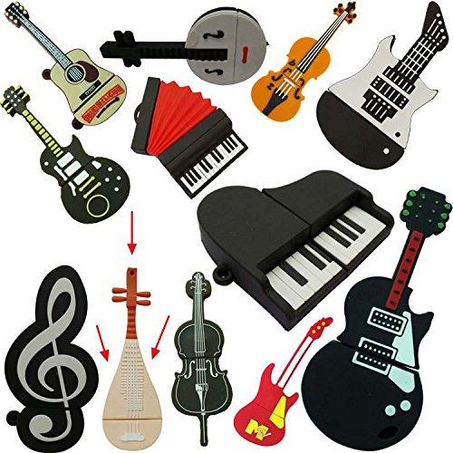 Dayan chiavetta usb creativa a forma di strumenti musicali 8 gb stil-9 8gb