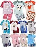 Vaenait baby 68-110 Kinder Jungen 2pcs Kurzarme Bekleidungssets 3/4 Sleeve Schlafanzug Happiness Sky M