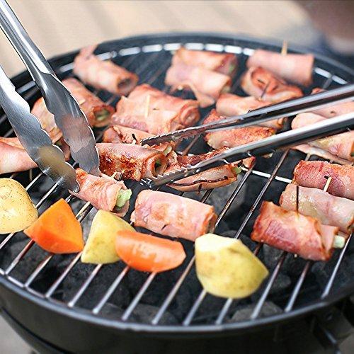 61abTAYvLXL - Grill-Eimer Holzkohlegrill für Garten Terrasse Camping Festival Picknick Party BBQ Barbecue 25,4 cm
