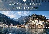 Amalfiküste und Capri (Wandkalender 2017 DIN A4 quer): Die Amalfiküste und die Insel Capri gelten als die schönsten Mittelmeer-Destinationen. (Monatskalender, 14 Seiten ) (CALVENDO Orte) - Joana Kruse