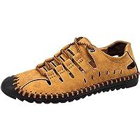 CHENYANG Hommes Mode Léger Sandales Orthopedique Chaussures de Plage avec Semelle Durable