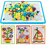 Best Créativité pour les enfants de 1 an Jouets filles - Puzzle Enfant Jeu De Construction Mosaïque Jouet Educatif Review